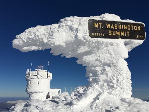 Photo by Mount Washington Observatory